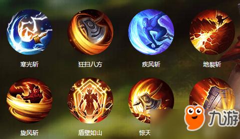 QQ华夏手游战士属性技能详细解析