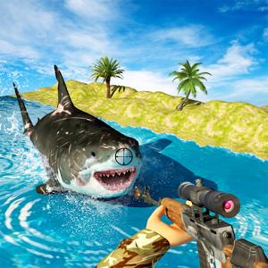 鲨鱼狩猎深潜