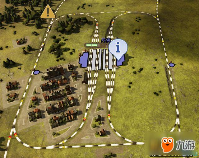 铁路帝国简易双线环路设计方案