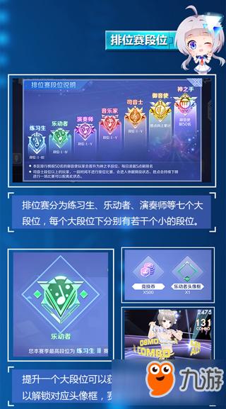 QQ炫舞手游怎么快速提高段位 QQ炫舞手游排位系统介绍