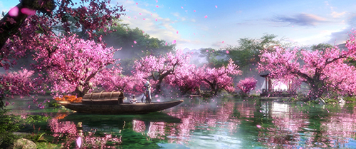 《那一剑江湖》评测:他们将最美桃花林搬进了游戏