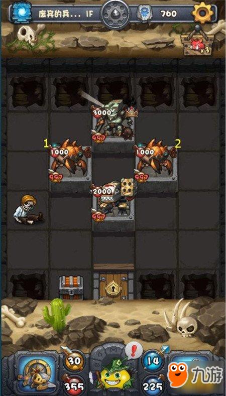 《不思议迷宫》废弃的兵工厂炸弹新手玩法攻略技巧详解