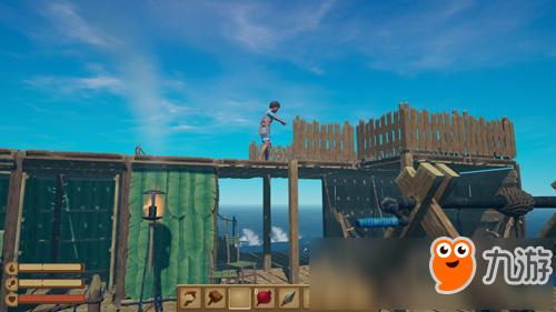 航海版方舟生存进化 多人海上生存游戏《木筏生存》简中曝光