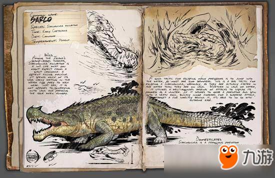 方舟生存进化帝王鳄代码 手游方舟帝王鳄怎么驯服