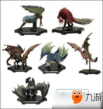 包括尸套龙,黑角龙,飞雷龙,惨爪龙,雄火龙和苍火龙,从图片来看这些