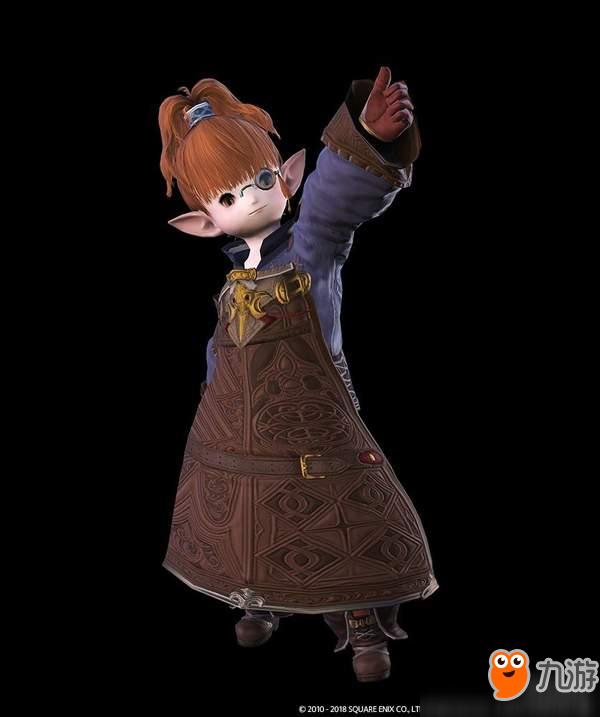 """《最终幻想14》4.3更新新截图 小姐姐吹""""箫""""美到窒息"""