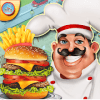 快餐餐厅烹饪 - 厨师烹饪游戏