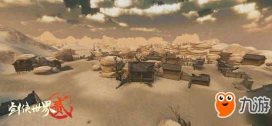《剑侠世界2》公测在即 新加入生存对战模式血与沙曝光