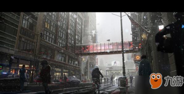 《底特律:变人》曝光绝美游戏原画
