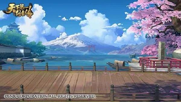 立绘吧!  在飞鸟、阳光与樱花的环绕下,江户时代的城镇显得静谧而宁静,但在这表面的安宁背后,魔界的阴谋与算计已在悄然进行中,幸好剑客们也一直在默默注视着这个世界,随时准备挺身而出,用剑道守护他们所爱的人,守护世间的和平。 需要特别介绍的是,画面右下角类似牌坊的建筑叫做鸟居,喜欢看动漫的人对它一定很熟悉,但却不一定叫得出它的名字。鸟居附属于神社,代表神域的入口,一旦踏入便视为进入神域,不再是人类世俗的世界,一言一行都需谨慎。所以看到鸟居,就知道附近一定会有神社的存在,要保持礼貌的敬意哦。    夜晚的江户城