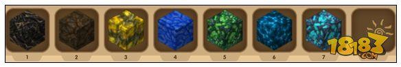 迷你世界矿石分布图 好矿工必备攻略