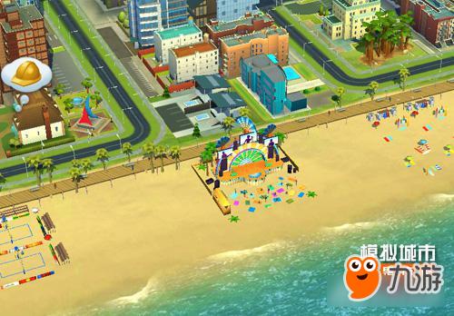 《模拟城市:我是市长》领略沙滩音乐节的魅力