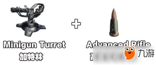 《方舟生存进化》手机版加特林怎么用 加特林用什么子弹