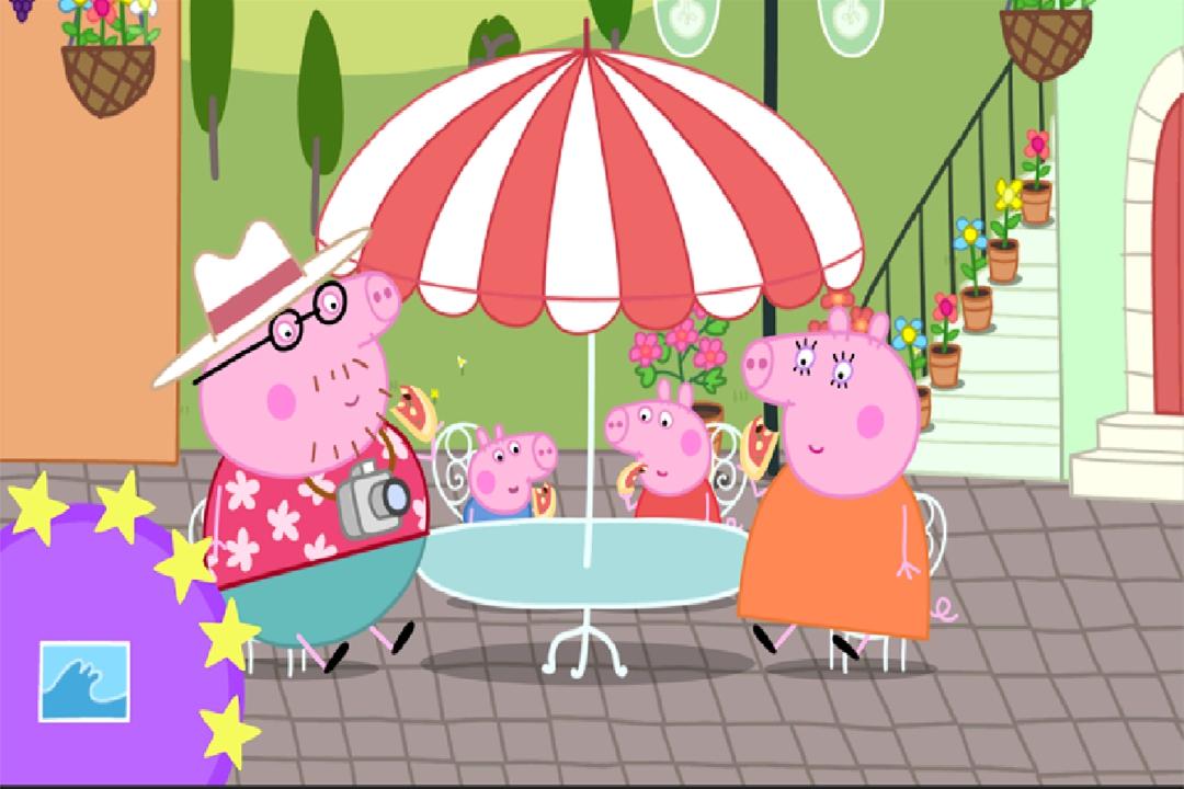 综合篇 小猪佩奇:假期好玩吗 小猪佩奇:假期玩法简介  佩奇要去度假啰