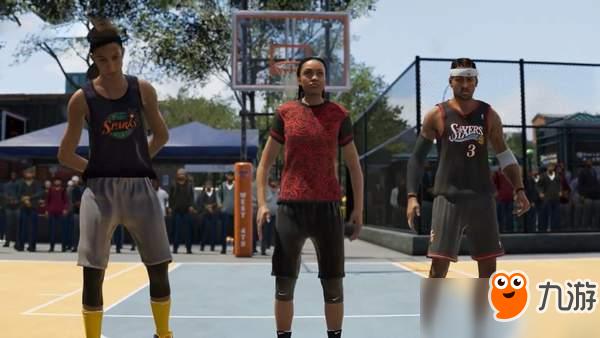 巾帼不让须眉 《NBA Live19》玩家却己创女性球员