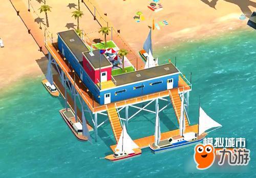 《模拟城市:我是市长》用风帆点缀夏日海滩