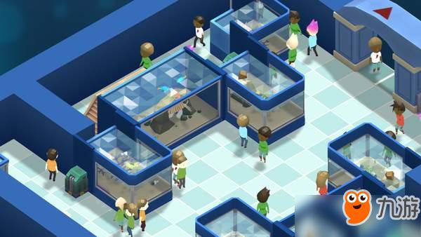 模拟经营《巨型水族馆》上线Steam 今年发售,支持简中