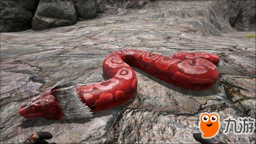 方舟生存进化手游泰坦巨蟒在哪出现 泰坦巨蟒驯服攻略