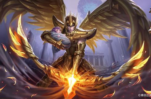 王者荣耀后羿圣斗士皮肤模型曝光 黄金射手座皮肤特效一览