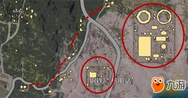 刺激战场套路分享 海岛核电站打胎王