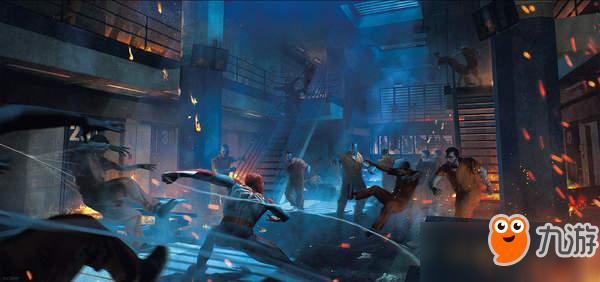 《漫威蜘蛛侠》高清艺术概念图 小虫大战机械手怪物