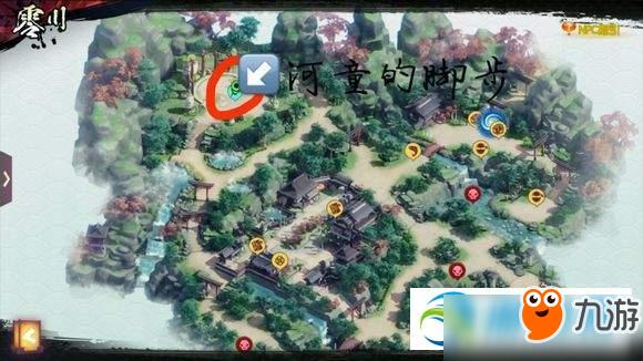 侍魂胧月传说零川寻宝在哪?全藏宝图位置坐标详解汇总