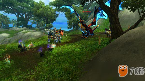 《魔兽世界》8.0收集控福利 海岛收集类成就改为账号成就