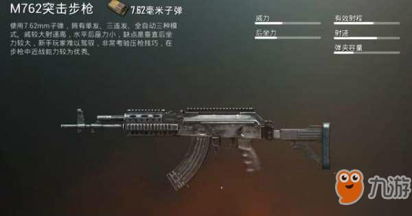 刺激战场热门步枪解析 2枪就能爆掉三级头