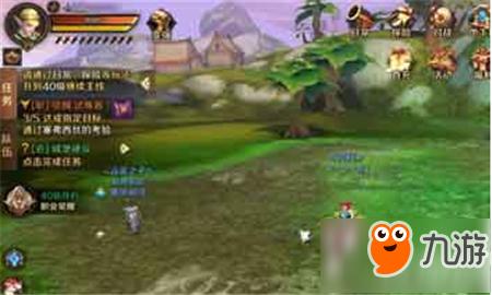 万王之王3d 游戏攻略 任务篇 万王之王3d曙光林地风景点地标解析