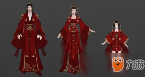 《天涯明月刀手游》心王·红鸾殿嫁衣外观图鉴