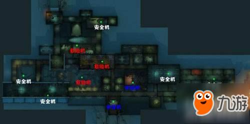 《第五人格》疯人院发电机位置介绍 新地图发电机位置