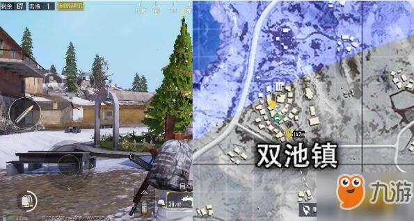 《绝地求生刺激战场》雪地地图圣诞树在哪 圣诞树具体