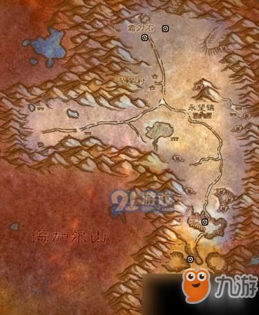 魔兽世界怀旧服冬泉谷采矿点在哪?冬泉谷采矿点图文说明