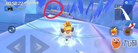 跑跑卡丁车冰雪企鹅岛宝藏位置在哪?冰雪企鹅岛宝藏位置攻略