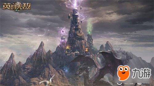 神秘建筑王权之眼 魔法门之英雄无敌王朝全新玩法首次曝光