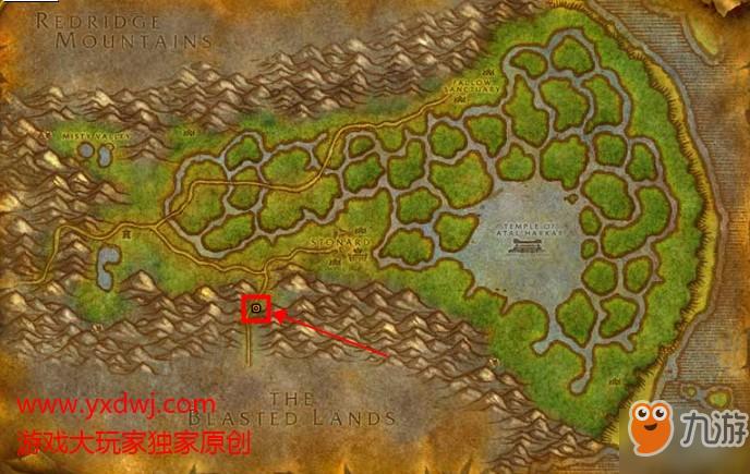 《魔兽世界怀旧服》污染者拉瑟莱克在哪儿 污染者拉瑟莱克位置分享