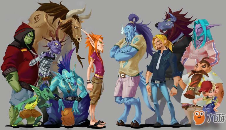 【小魔助手】魔兽世界怀旧服什么种族好看?喜欢的了解一下