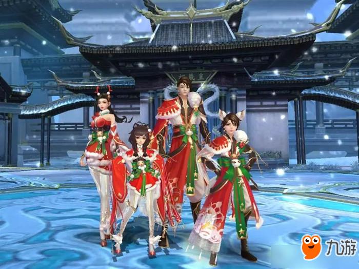 《诛仙》手游2019圣诞主题时装是什么