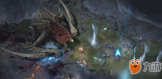 暗黑破坏神4采用新引擎 材质/动画效果更真实流畅