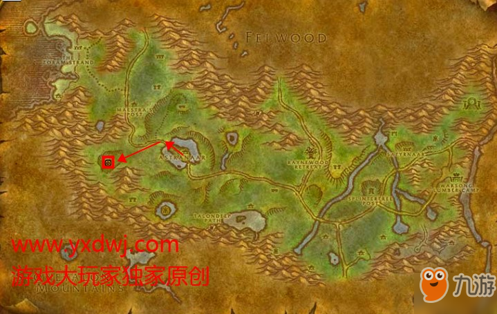 《魔兽世界怀旧服》身陷危险的树妖攻略 任务怎么做