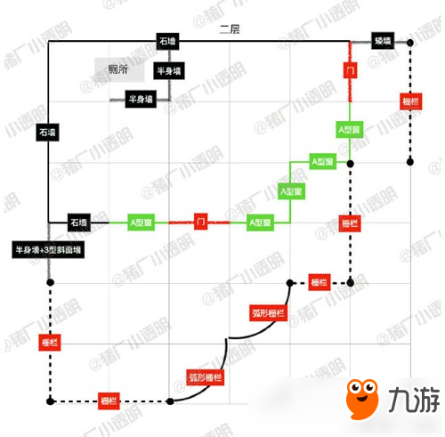 《明日之后》8级庄园房子怎么设计 8级庄园房子设计图纸