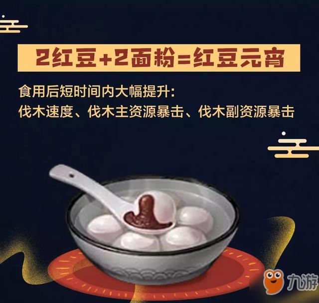 《明日之后》元宵食谱配方汤圆所有汤圆v食谱绿豆汤怎么熬才绿图片