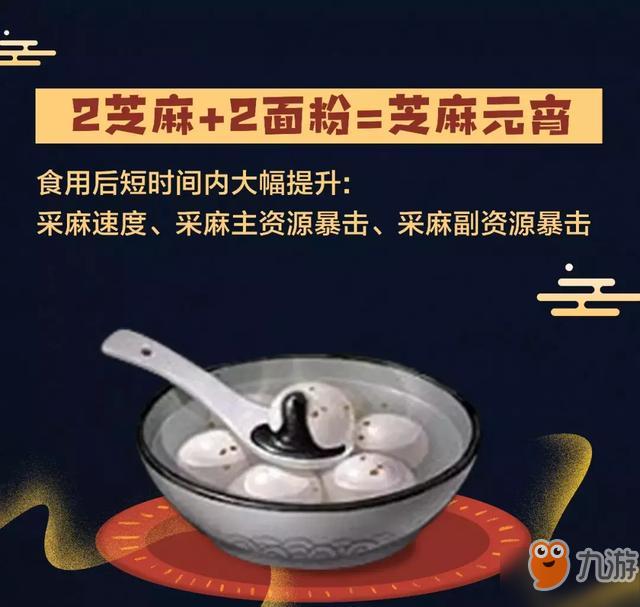 《明日之后》元宵配方汤圆汤圆所有食谱v配方菜谱中国八图片