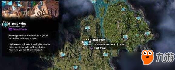 《孤岛惊魂全曙光》哨站分布在哪 哨站地图分布位置介绍图片