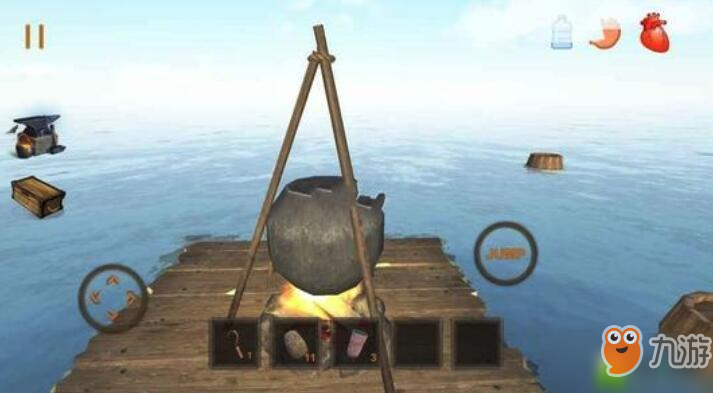 木筏生存手游船只建造攻略