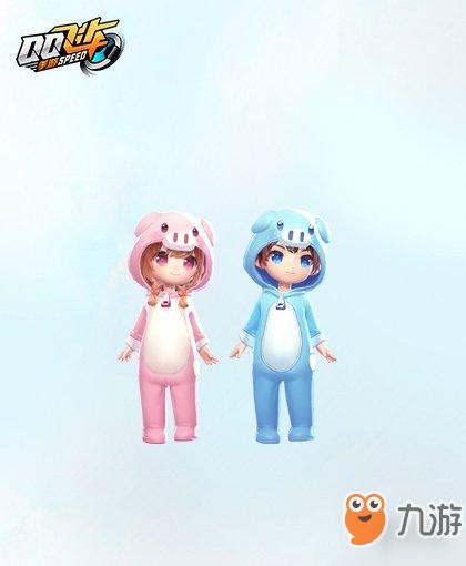 《QQ飞车手游》呆萌猪宝套装获得方法 宝宝套装价格点券钻石