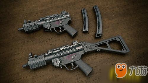 绝地求生:MP5K是鸡肋?满配之后的德国工艺,堪称近战王者!