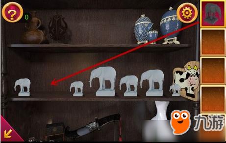 《密室逃脱古堡迷城2》第六关怎么过