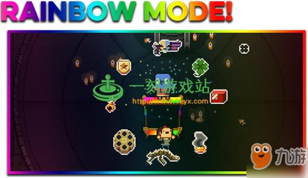 《挺进地牢》如何开启彩虹模式 虹模局内容详情一览