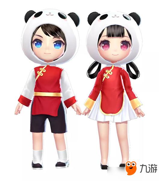 《QQ飞车》手游熊猫宝宝套装售价